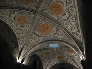 Plafond de la Chapelle de Sainte Marie d'en Haut